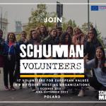 Ще 3 вакансії річного волонтерства в Польщі